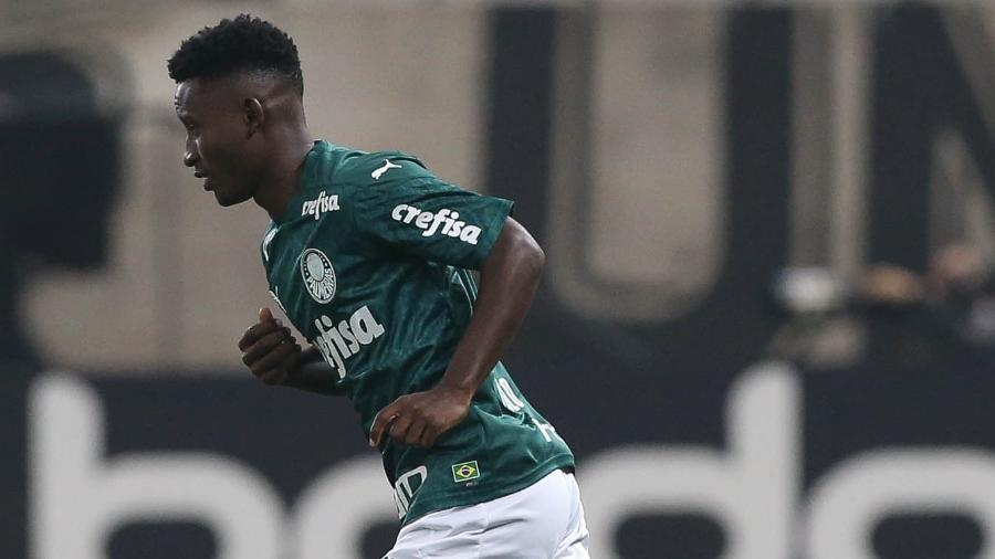 Ivan Angulo está fora dos planos de Abel Ferreira para o Palmeiras - Cesar Greco/Ag. Palmeiras