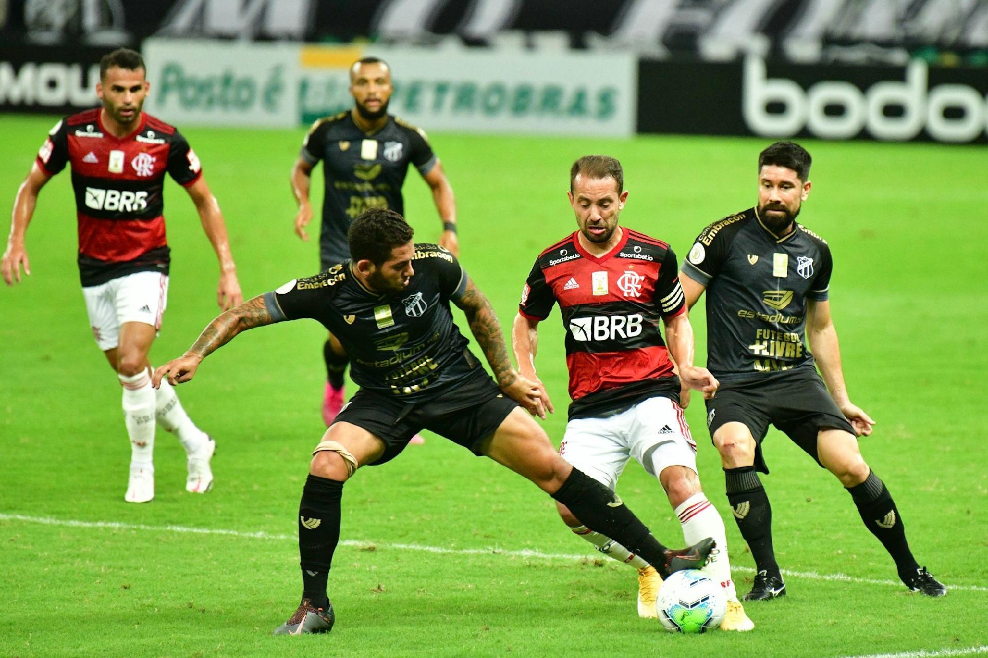 Flamengo Perde Para O Ceara E Ve Fim De Sequencia De Vitorias No Brasileiro 13 09 2020 Uol Esporte