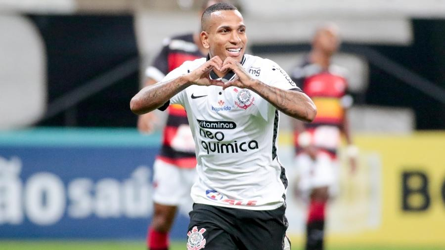 Otero marcou o primeiro gol do Corinthians contra o Ituano, pelo Paulistão - Rodrigo Coca / Agência Corinthians