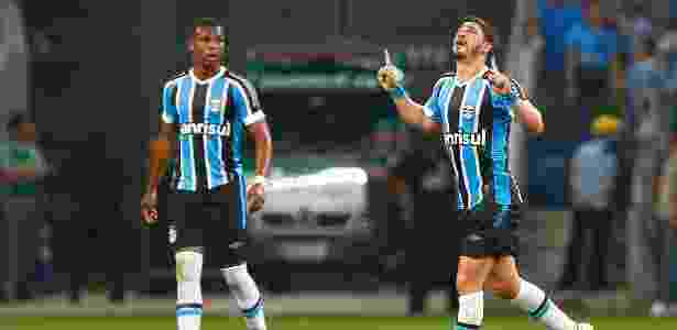 Giuliano é a principal dúvida do Grêmio para estreia da Libertadores contra o Toluca - LUCAS UEBEL/GREMIO FBPA