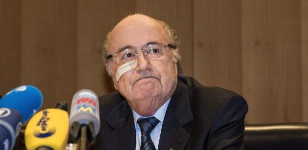 Blatter foi suspenso por oito anos
