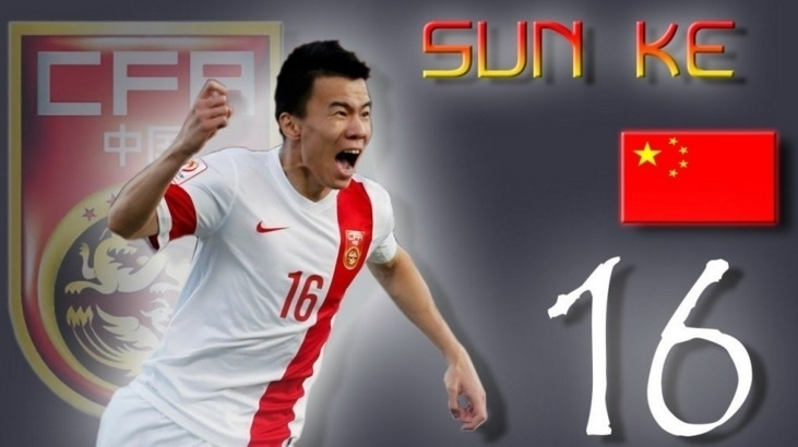 Sun Ke é anunciado como reforço do Tianjin Quanjian