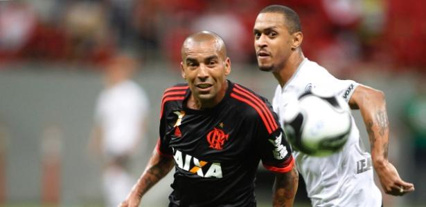 Emerson Sheik está fora da partida decisiva do Flamengo na Taça Guanabara