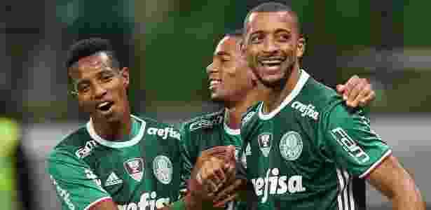 Vitor Hugo abriu o placar para o Palmeiras contra o Fluminense  - Cesar Greco/Ag Palmeiras