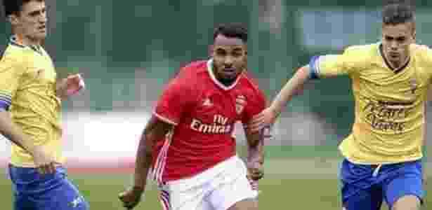 Vinicius Ferreira, como é conhecido em Portugal, estreou com gol pelo Benfica - Reprodução/Instagram