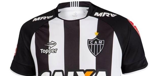 Atlético-MG tem uniforme assinado pela Topper na atual temporada