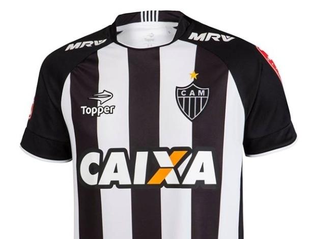 Atlético-MG utiliza patrocínio da Caixa desde o início de 2016