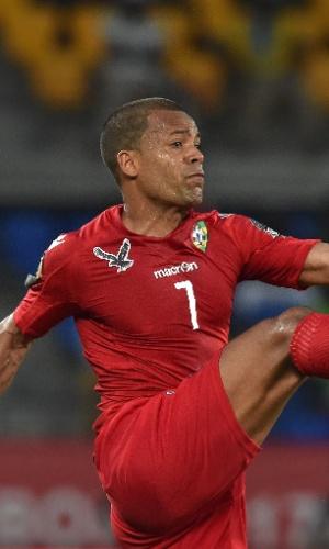 Mathieu Dossevi, da seleção de Togo, na Copa Africana de Nações 2017
