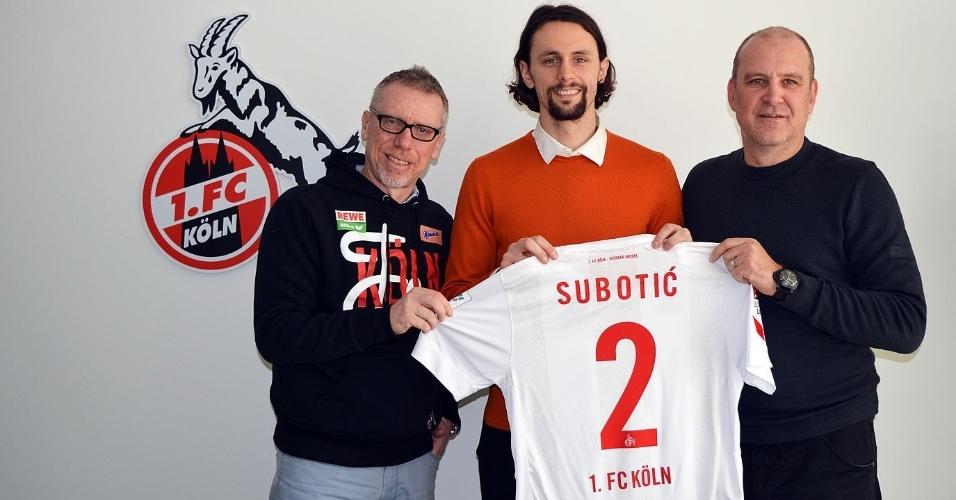 Neven Subotic (zagueiro) - do Borussia Dortmund (ALE) para o Colonia (ALE) - empréstimo com custo de 500 mil euros