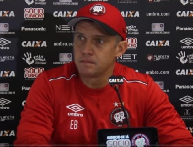Eduardo Baptista estreará como técnico do Atlético, escolhido pelo antecessor. Paulo Autuori - Reprodução