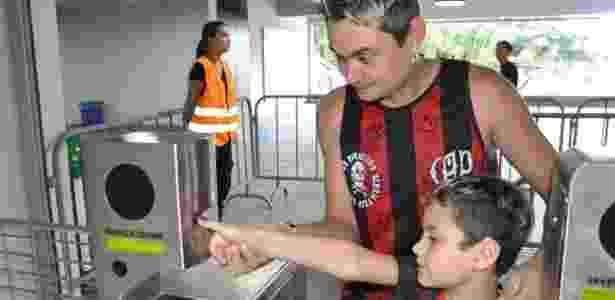 Atlético-PR já utiliza sistema de biometria em seu estádio - Marco Oliveira / Site oficial do Atlético-PR