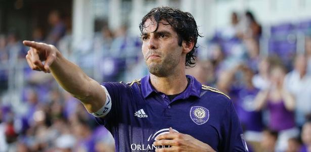 Kaká defende o Orlando City somente até o fim desta temporada nos EUA