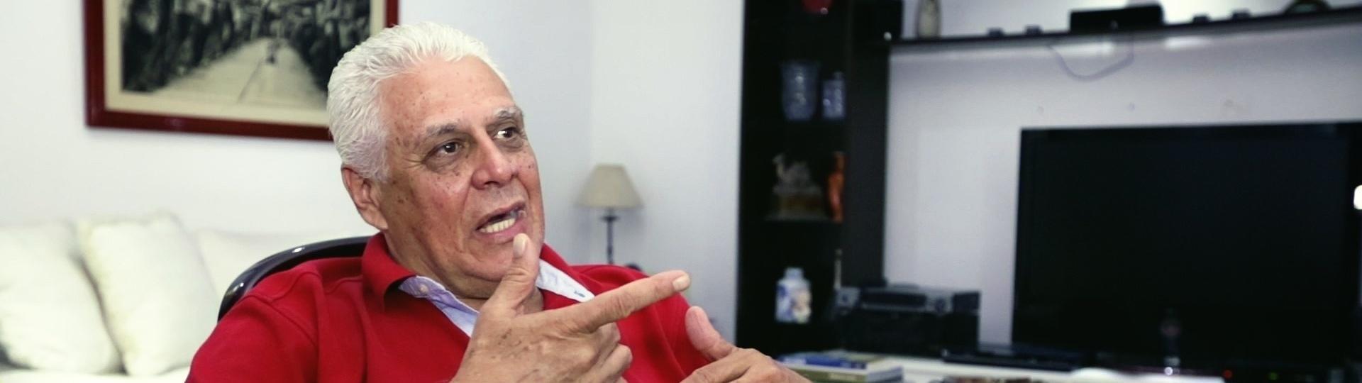Roberto Dinamite em entrevista ao UOL