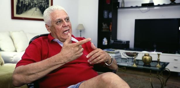 Roberto Dinamite em entrevista concedida ao UOL