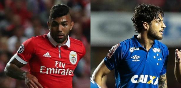 divulgação/Benfica e Marcello Zambrana/Light Press/Cruzeiro