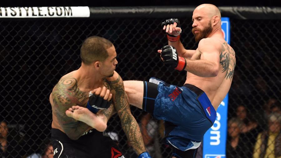 Donald Cerrone nocauteou Yancy Medeiros no 1º round - Divulgação/UFC