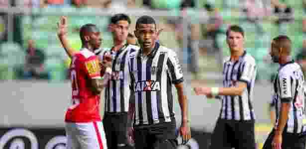 Atacante de 18 anos não conseguiu suprir ausência e lamentou falta de gols - Bruno Cantini/Clube Atlético Mineiro