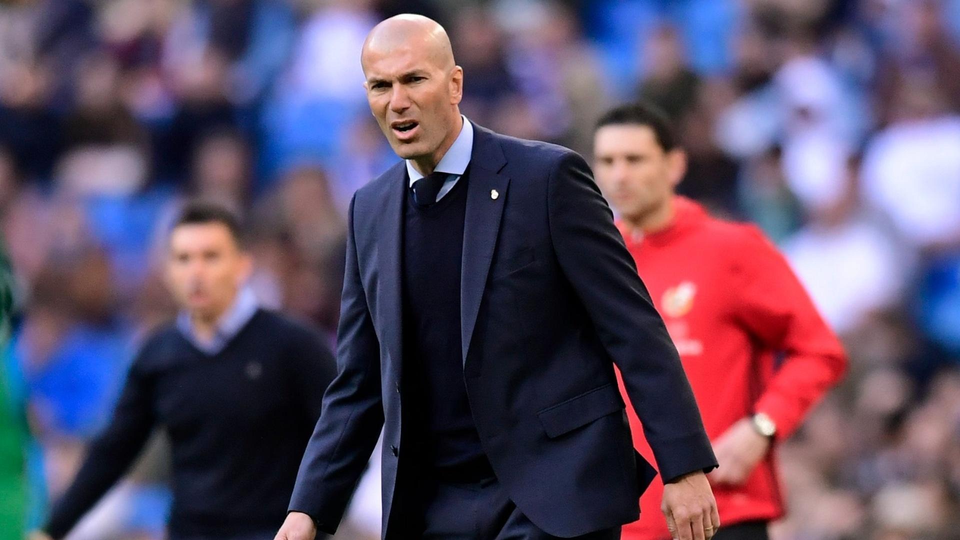 Zidane comanda o Real Madrid diante do Leganés