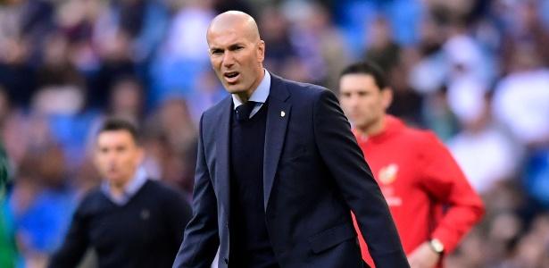 Zidane não mudará estratégia na Liga dos Campeões - AFP