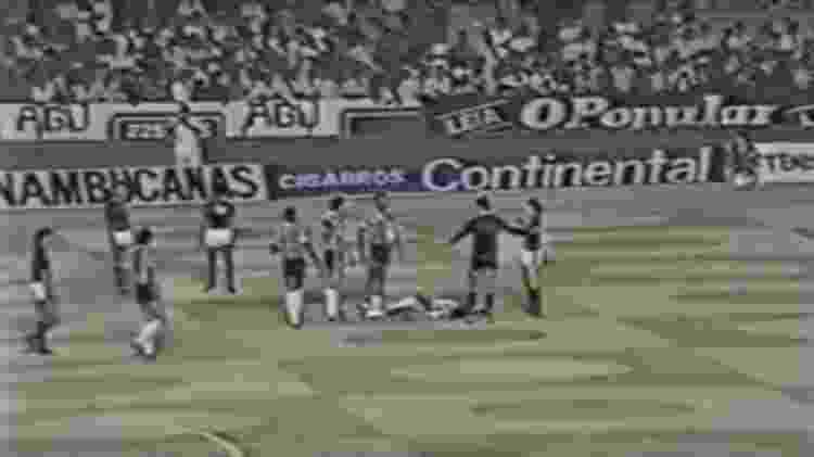 Flamengo x Atlético-MG em 1981 - Reprodução - Reprodução