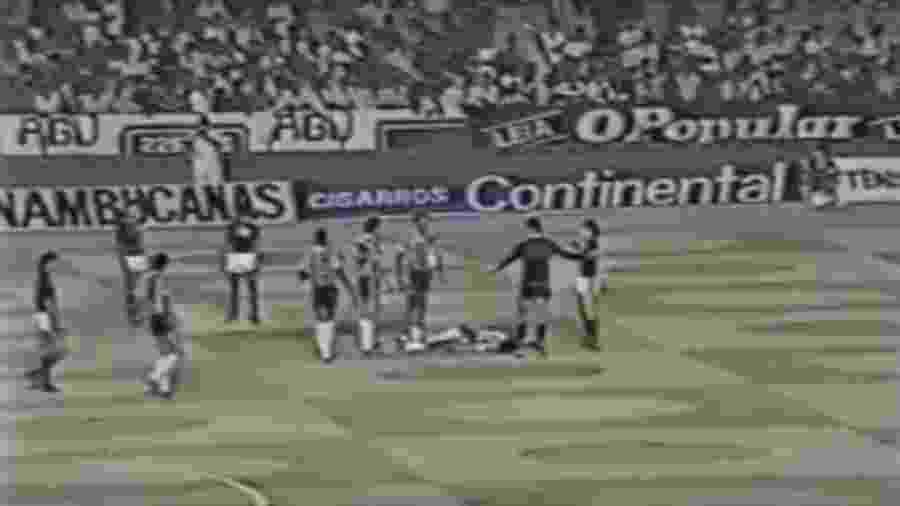 Flamengo x Atlético-MG em 1981 - Reprodução