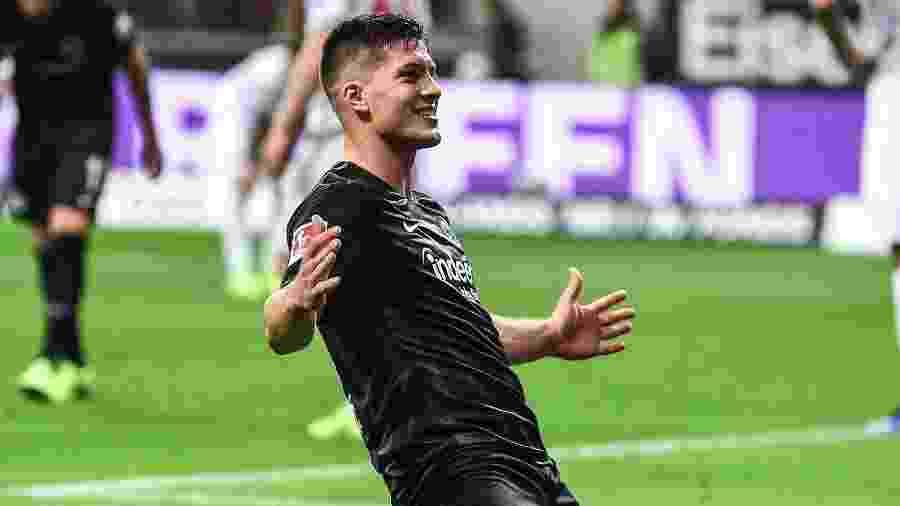 Luka Jovic é uma das revelações do futebol europeu nesta temporada - Divulgação/Eintracht Frankfurt
