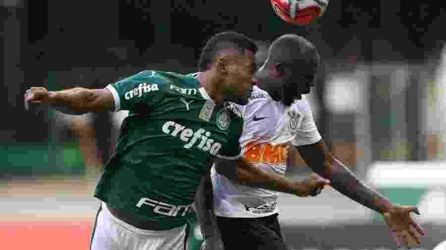 Jogadores do Palmeiras durante treinamento neste sábado (9) - Palmeiras/Flickr