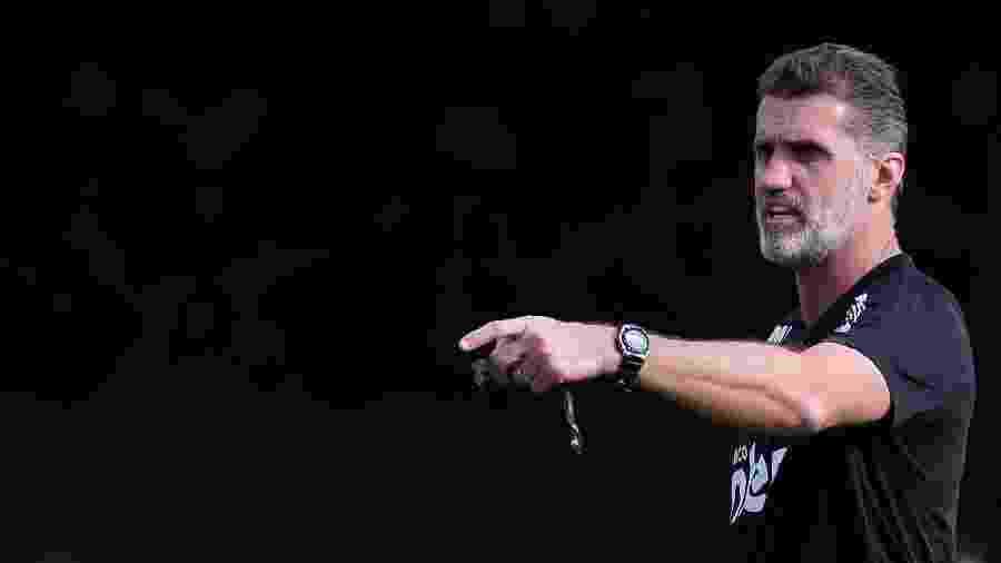 Vagner Mancini pode não usar esquema com três zagueiros contra o Palmeiras - Marcello Zambrana/AGIF