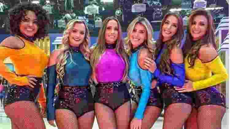 Cintia Mello, Ingrid Prado, Ariane Vuono, Paula Donati, Natalia Farkuh e Amanda Vieira, do balé do Ratinho - Reprodução/Instagram