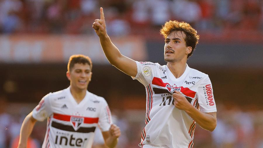 Igor Gomes do São Paulo - Daniel Vorley/AGIF