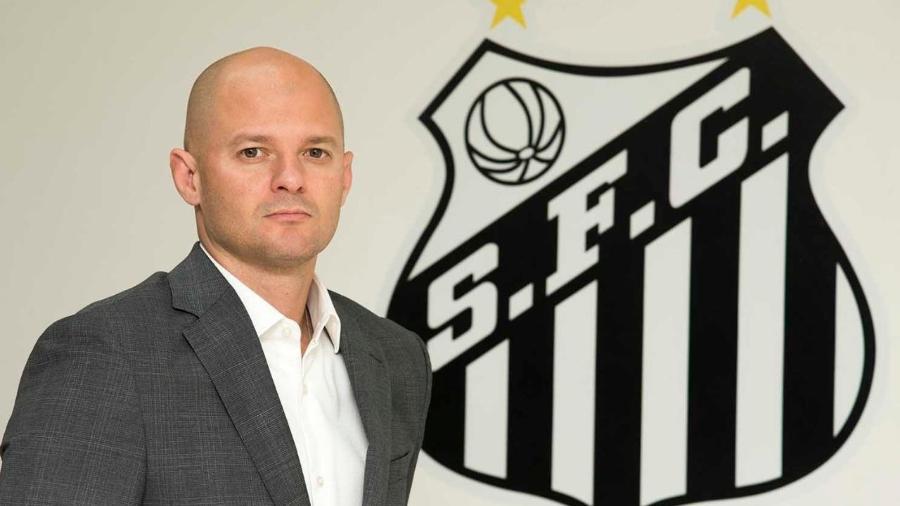 William Thomas, superintendente de futebol do Santos - Ivan Storti/Santos FC