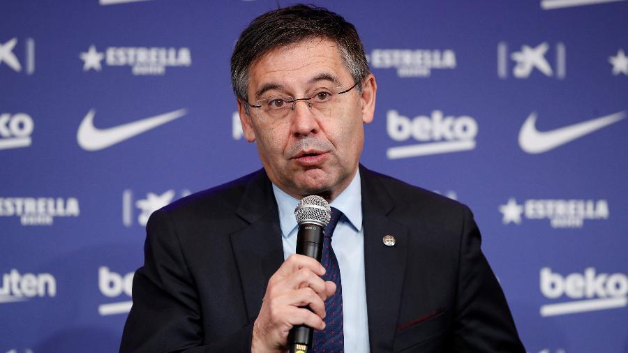 Josep Maria Bartomeu, ex-presidente do Barcelona, foi preso ontem - Albert Gea/Reuters