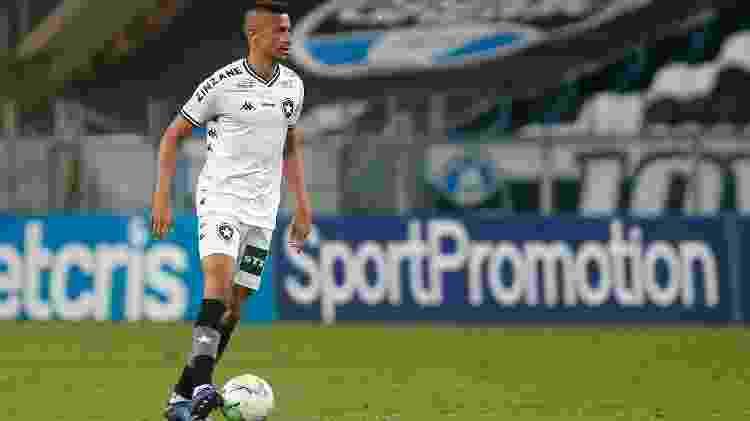 Volante Cícero voltou a atuar pelo Botafogo na partida contra o Grêmio, pelo Brasileiro - Vitor Silva/Botafogo - Vitor Silva/Botafogo