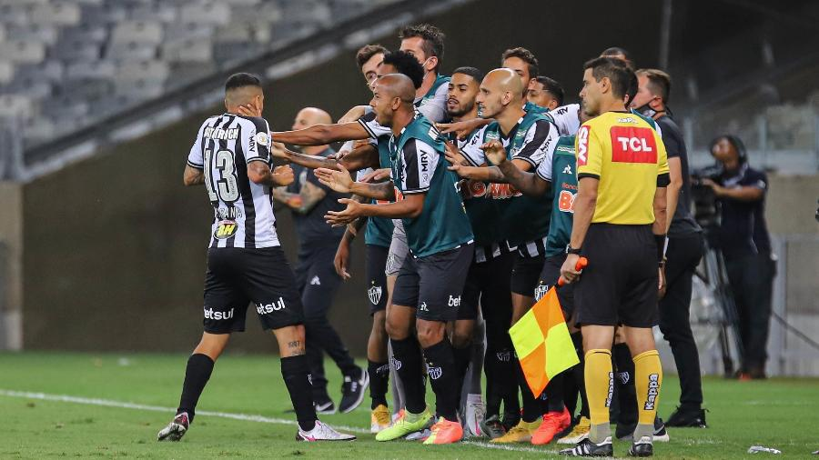Atlético-MG tenta retomar boa fase e emplacar nova sequência de vitórias no Brasileirão - Pedro Souza/Atlético-MG