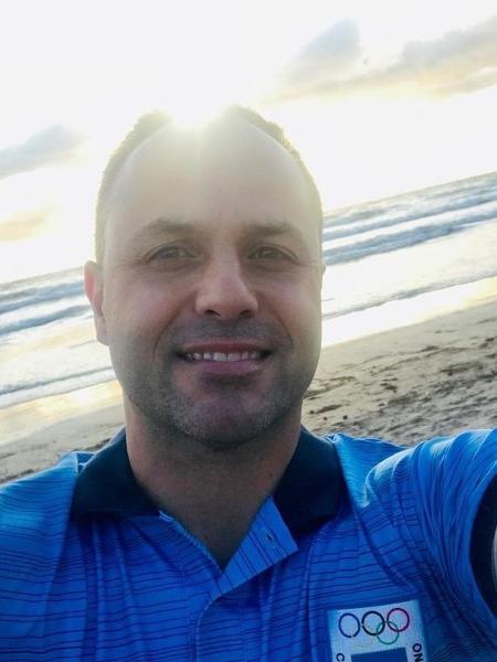 Roger Medina, técnico da seleção argentina de ginástica - Reprodução/Instagram