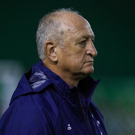 Felipão, técnico do Cruzeiro, durante partida contra o Juventude - Fernando Alves/AGIF