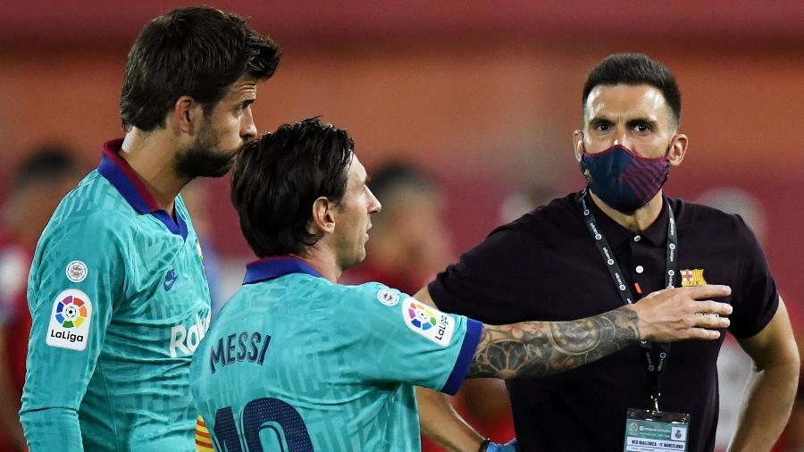 Passagem de Eder Sarabia pelo Barcelona ficou marcada por clima ruim com Messi; espanhol treinará time de Piqué - David Ramos/Getty Images