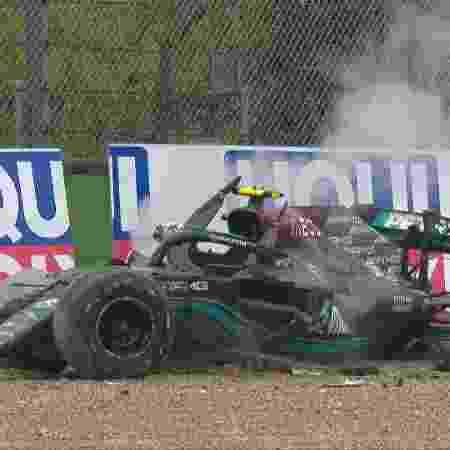 bottas imola - Reprodução/Twitter @Formula1 - Reprodução/Twitter @Formula1