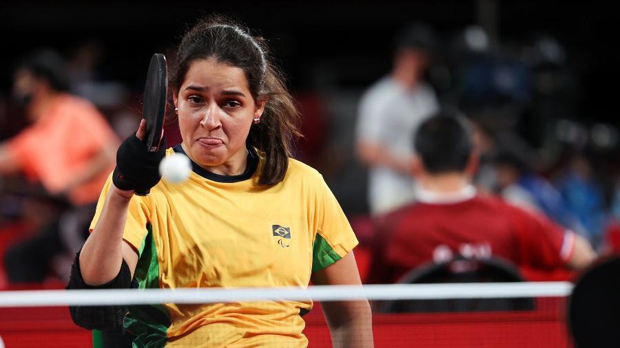 Cátia Oliveira disputou semifinal no tênis de mesa nas Paralimpíadas 2020 - Takuma Matsushita/CPB