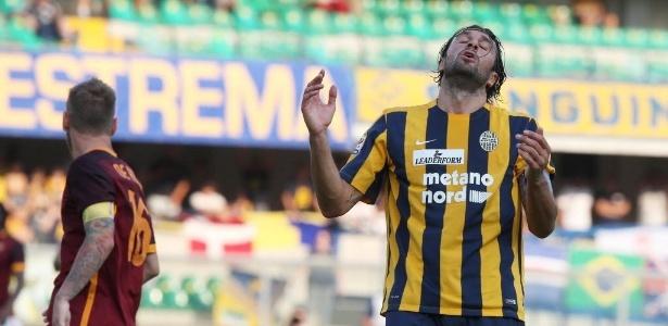 Artilheiro do Italiano no ano passado, Toni acabou rebaixado com o Verona em 2016