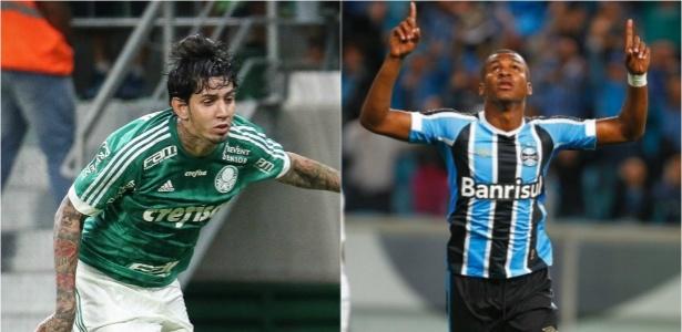 Os zagueiros não defendem mais Palmeiras e Grêmio, respectivamente