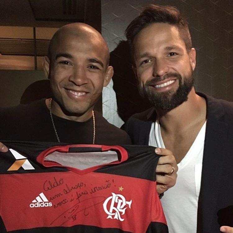 José Aldo se reúne com Diego