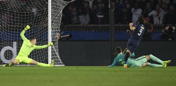 Cavani contra Piqué e Ter Stegen: Juventus vai encarar o mesmo sistema defensivo
