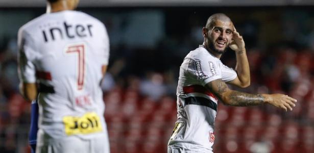 Presença de Liziero no profissional no começo do ano foi motivo de atrito no SP