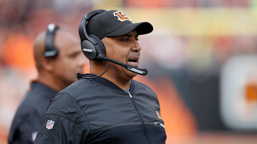 Marvin Lewis, ex-técnico do Cincinnati Bengals - Joe Robbins/Getty Images/AFP