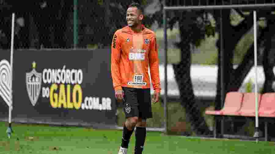 Geuvânio, atacante do Atlético-MG, explicou ausência em vitória pela Sul-Americana - Bruno Cantini/Divulgação/Atlético-MG