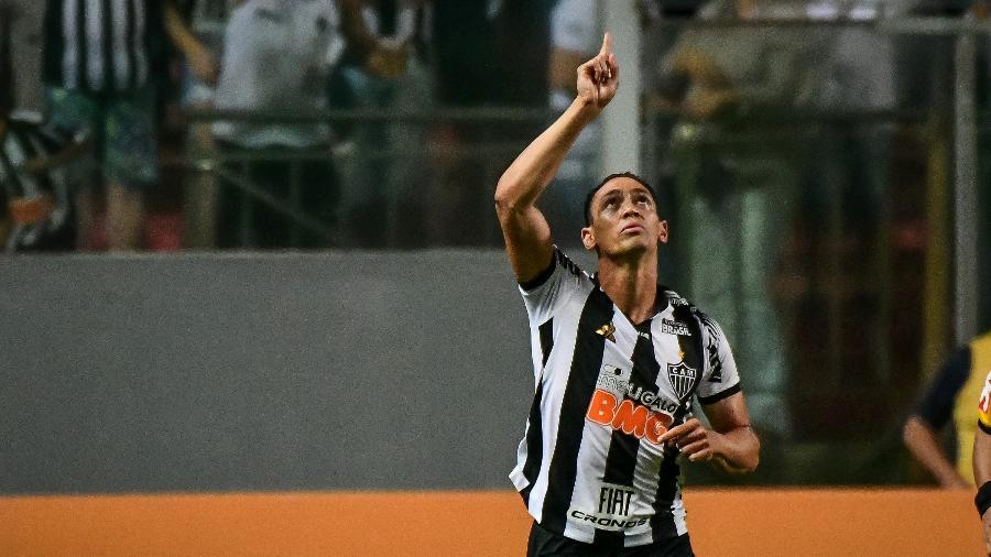 Ricardo Oliveira, atacante do Atlético-MG, lança single ao lado da mulher Debora Oliveira - Gledston Tavares/FramePhoto/Estadão Conteúdo