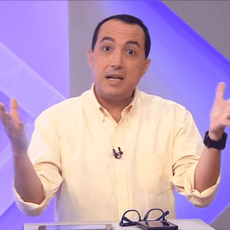 Carlos Cereto, jornalista do SporTV - Reprodução/SporTV
