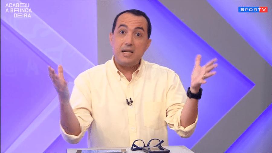 Carlos Cereto analisou rivalidade entre clubes do Rio de Janeiro - Reprodução/SporTV