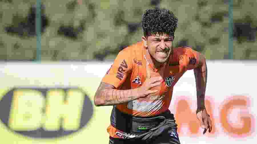 Luan tem poucas oportunidades com as cores do Atlético-MG desde julho - Bruno Cantini/Divulgação/Atlético-MG
